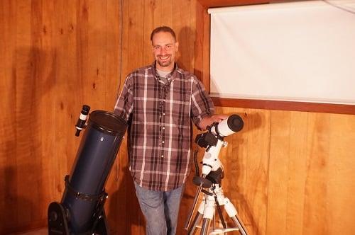 Martin McConnell Small Telescope Photo