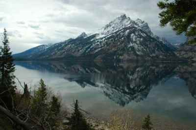 Picture of Tetons and Jackson Lake by Colleen M. Story