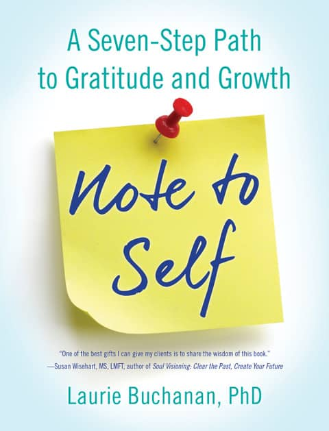 Book Cover of Note to Self by Laurie Buchanan