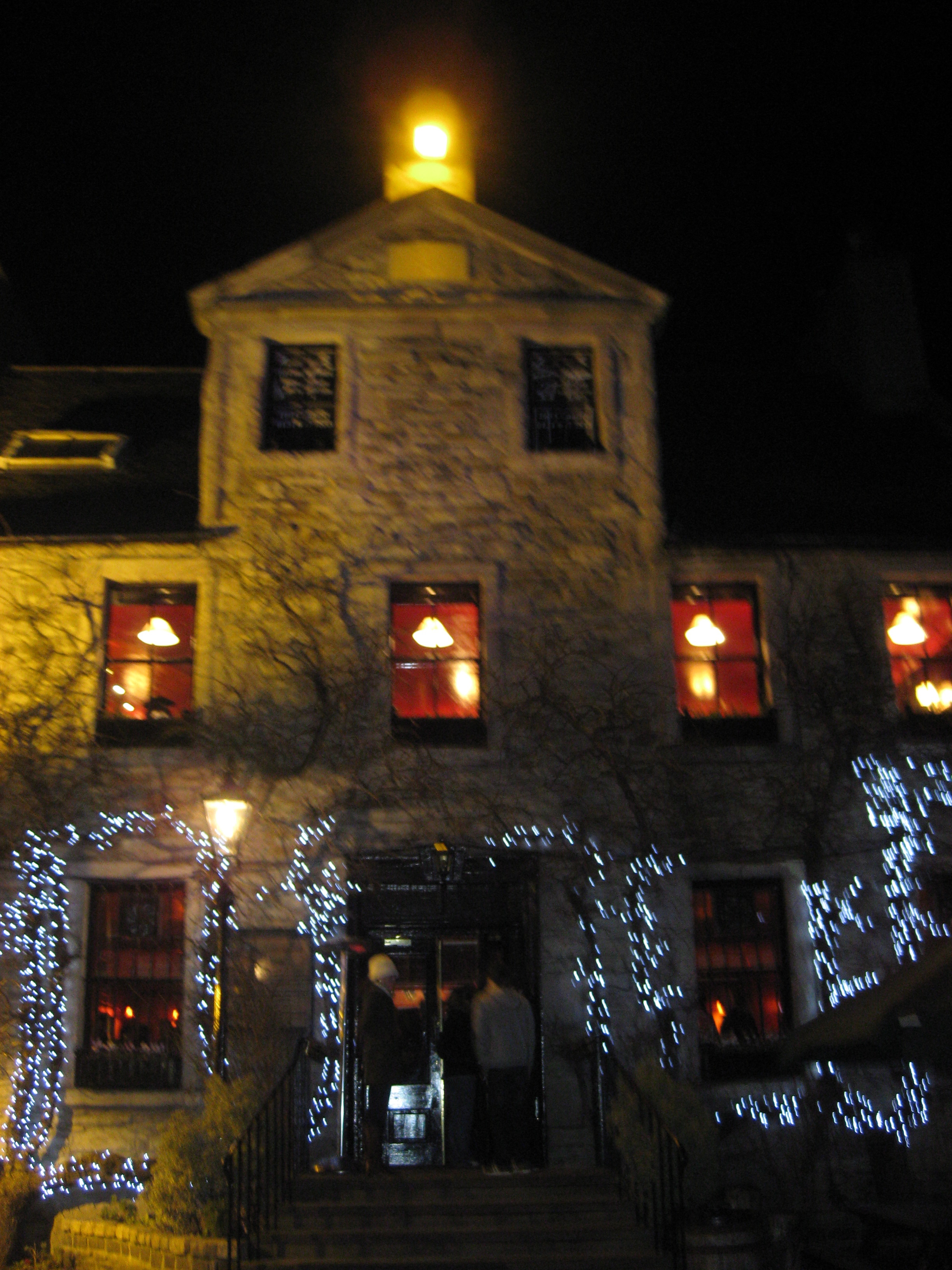 The Pear Tree, Robert Burns's former crib and a stop on the Literary Pub Crawl