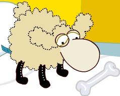 Dolly sheep from parapluesch