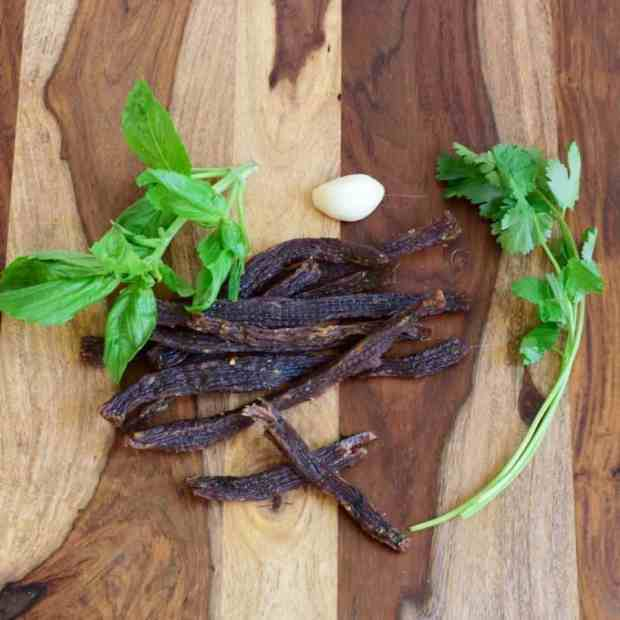 Thai Spiced Beef Jerky Square