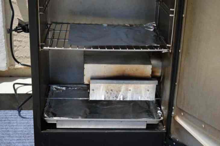 Aluminum Foil in the Smoker