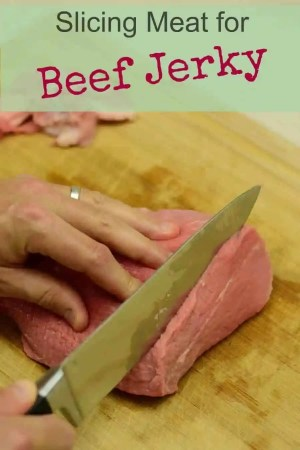 Slicing Meat for Beef Jerky