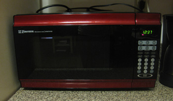 I decided to purchase a Red Microwave