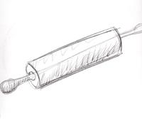 Rolling Pin Sketch