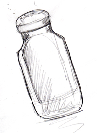 Salt & Pepper Sketch