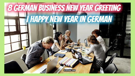 8 German Business New Year Greeting | Happy New Year in German