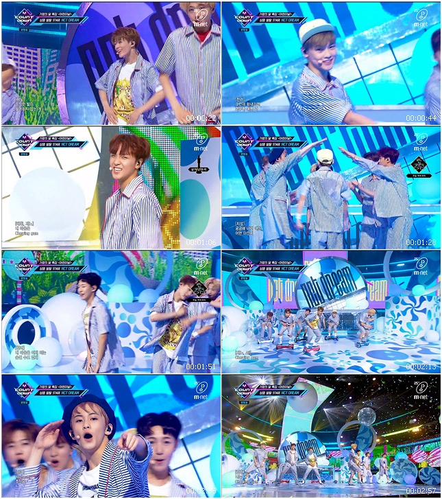 200507 Mnet M! Countdown NCT DREAM - Chewing Gum