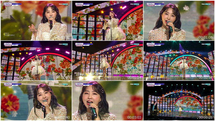 200527 MBC Show Champion MINZY - Lovely