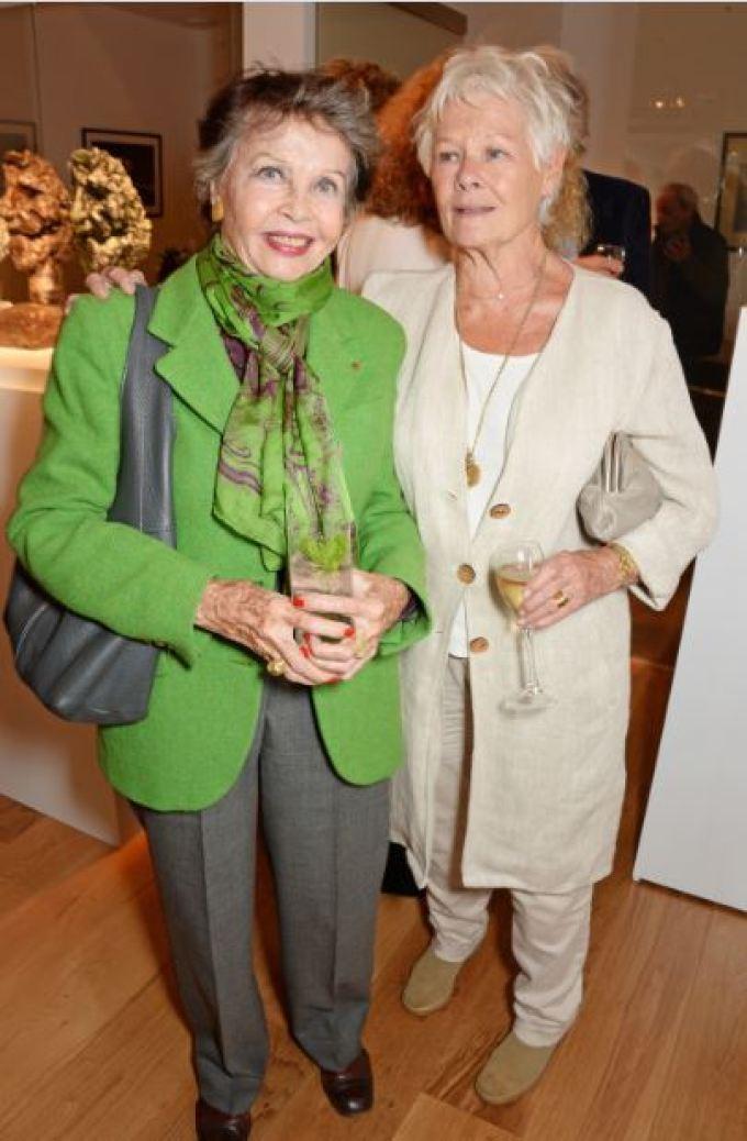 Leslie Caron, Judi Dench Jermyn Street: Bowman Sculpture & Nicole Farhi