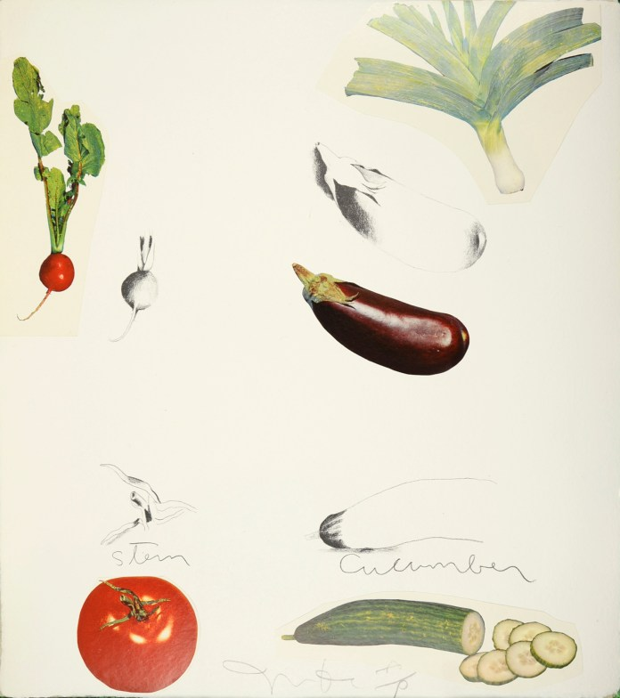 Jim Dine, Vegetables, from Shapero Modern