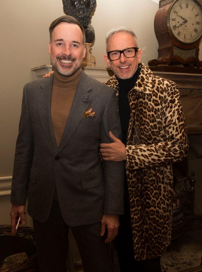 David Furnish and Patrick Cox-1