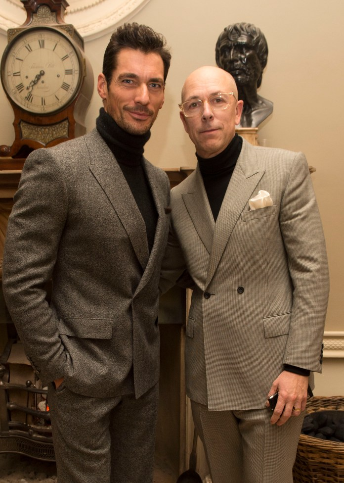 David Gandy and Dylan Jones1