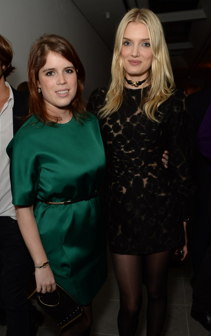 Princess Eugenie, Lily Donaldson © Richard Young Serpentine Future Contemporaries x Harrods Party 2016 20 February 2016 Serpentine Sackler Gallery and The Magazine