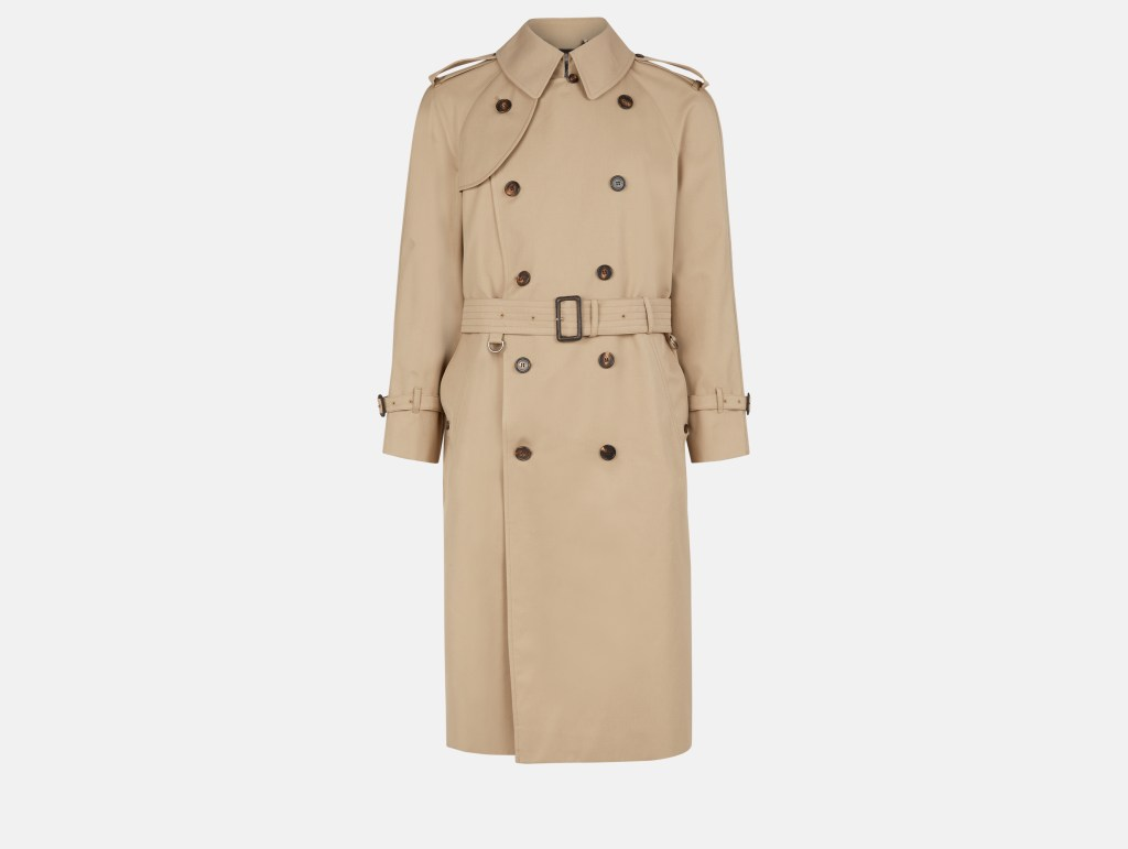 Bogart Trench Coat - Camel - £850