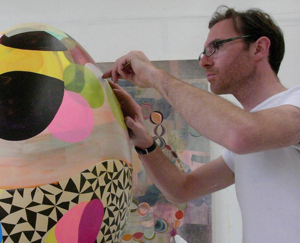 Julian Brown in studio 2