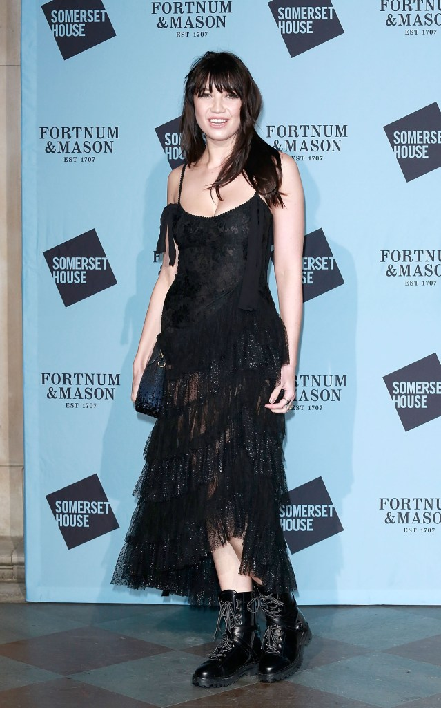 LONDON, ENGLAND - NOVEMBER 16: Daisy Lowe attends the opening party of Skate at Somerset House with Fortnum & Mason on November 16, 2016 in London, England. London's favourite festive destination opens at Somerset House on Thursday 17th November and runs until Sunday 15th January 2017. (Photo by David M. Benett/Getty Images for Somerset House Trust/Fortnum & Mason) *** Local Caption *** Daisy Lowe