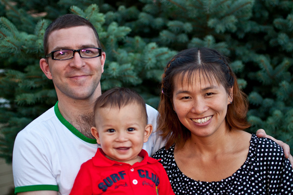 David, Matthew and April Cook - Saints in China