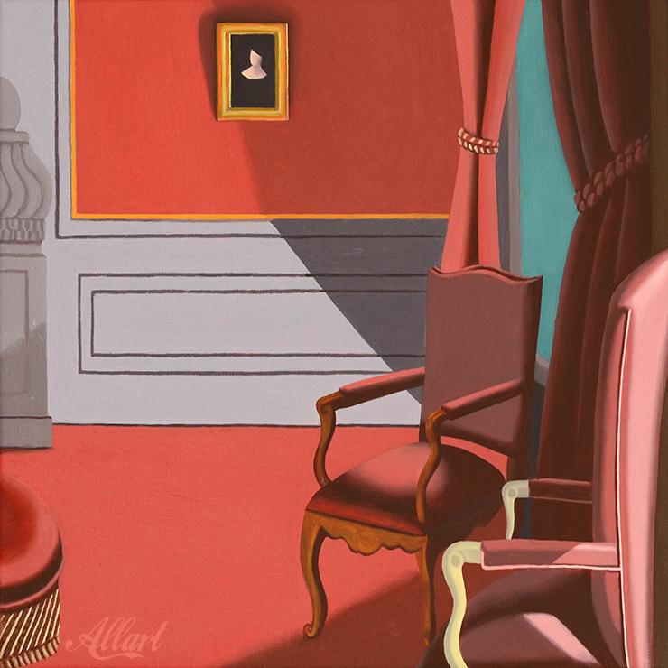 Styleroom / 40x40 / oil / Jeroen Allart / 2019