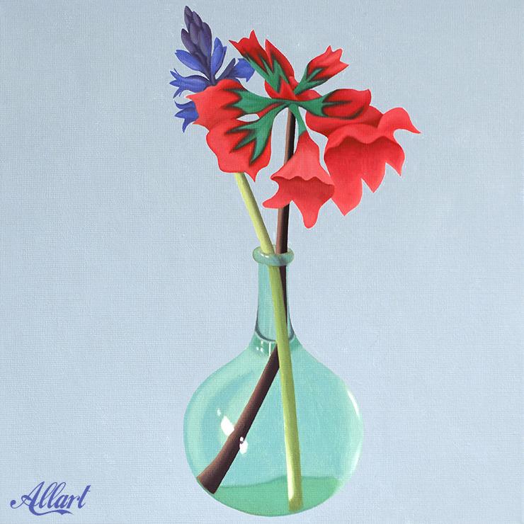 Flowers / 50x40cm / oil / © Jeroen Allart / 2020