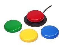 Switch die personen met een motorische beperking gebruiken als muis/toetsenbord-alternatief.