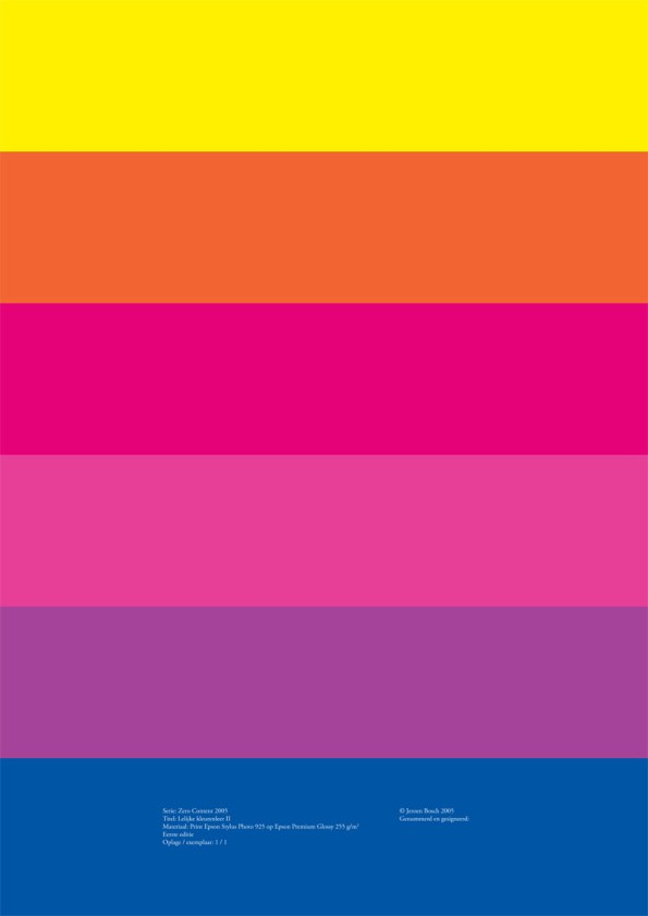 Lelijke kleurenleer II