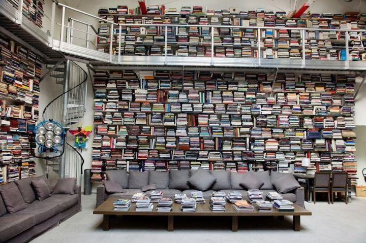 Bibliotheken van beroemdheden