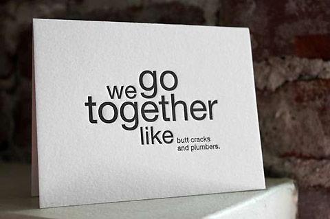 """""""Wij passen bij elkaar als…"""""""