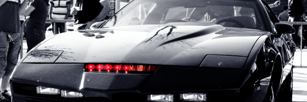 Logisch: Back to the Future met Knight Rider intro