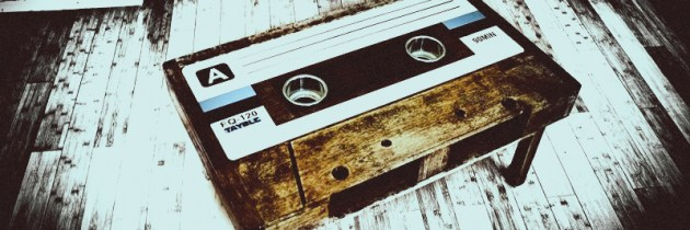 Prachtige cassettebandjesbijzettafels