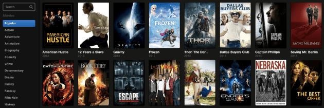 Streaming BitTorrentfilms kijken met Popcorn Time