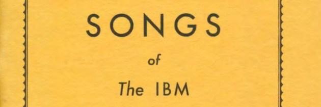 Het bedrijfsliedboek van IBM (1937)