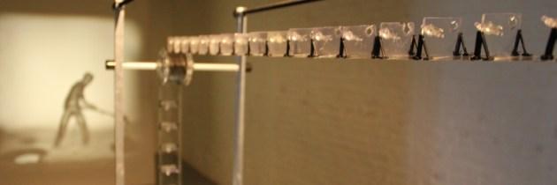 Hoe je met een loopband en 3D geprinte figuren een film maakt