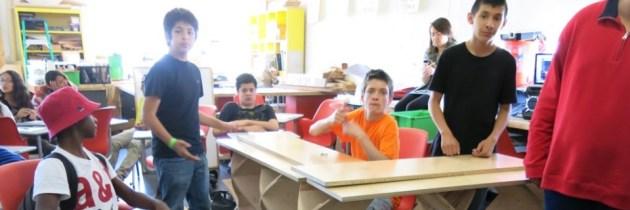 Maakonderwijs en de bibliotheek: jongeren maken met X-Space hun eigen bieb