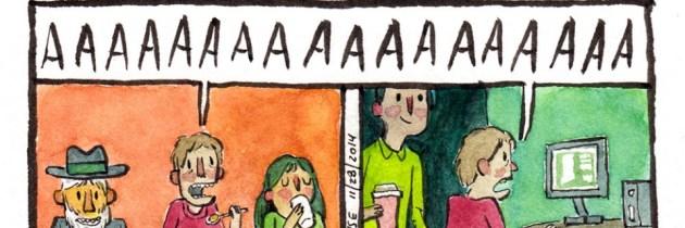 Deep Dark Fears: prachtige webcomic over angst in alle soorten en maten