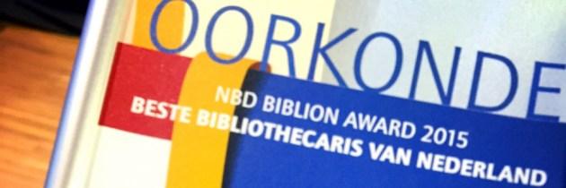 Ook mooi! Op een na beste bibliothecaris van Nederland