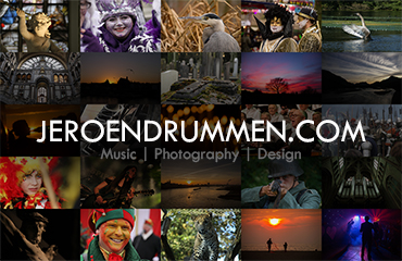 Jeroen Drummen: Business Card (Front Version 2)