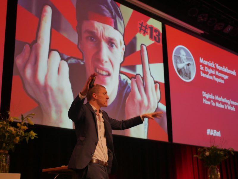 Marnick Vandenbroek How To Make It Work IAB Nederland The Netherlands keynote presentation
