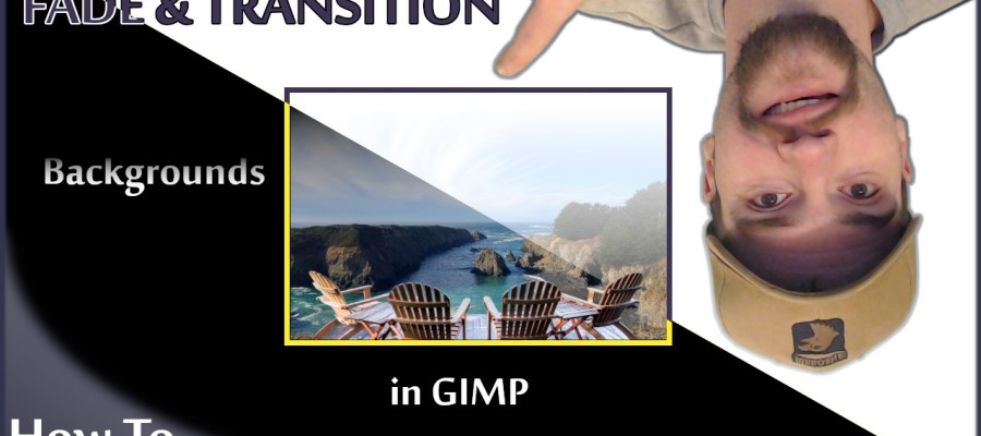 GIMP Tutorial - Background Transitions