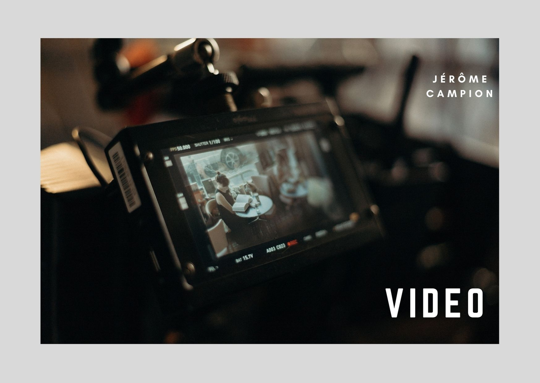 Vidéo - Jérôme Campion