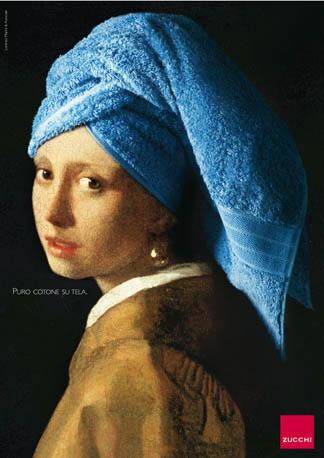 Le détournement de La Jeune Fille à la perle de Johannes Vermeer ...