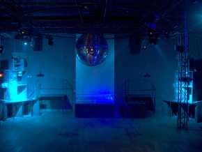 Dancefloor Blue