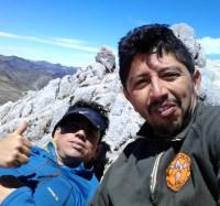 En la cumbre con Arnaldo Zerpa