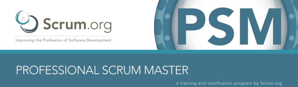 Curso Scrum Master Madrid