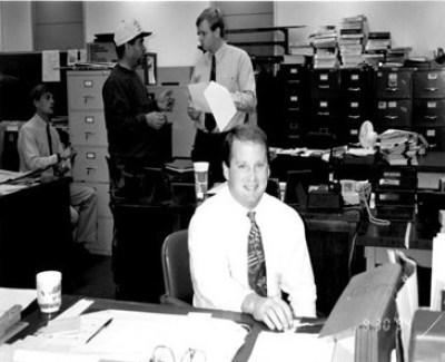Ray at Desk