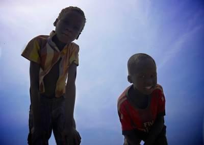 Flying in South Sudan