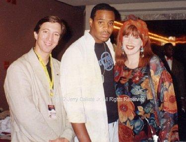 Tom Silverman, Jerry Calliste Jr and Monica Lynch