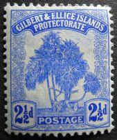 2 1/2d Gilbert & Ellice Islands - now Kiribati & Tuvalu