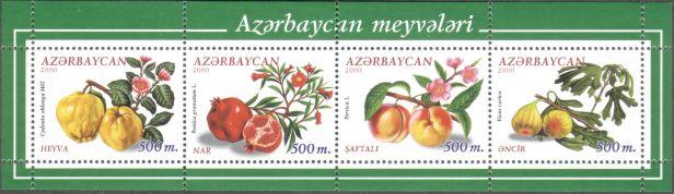 Azerbaijan - fruit, 2000